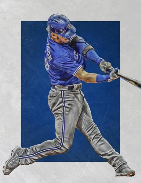 Wall Art - Mixed Media - Josh Donaldson Toronto Blue Jays Art 2 by Joe Hamilton