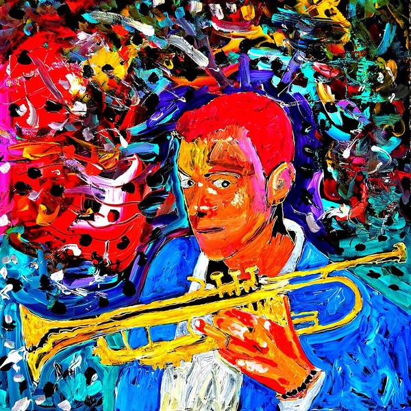 Painting - Joshua Bluegreen-cripps by Neal Barbosa