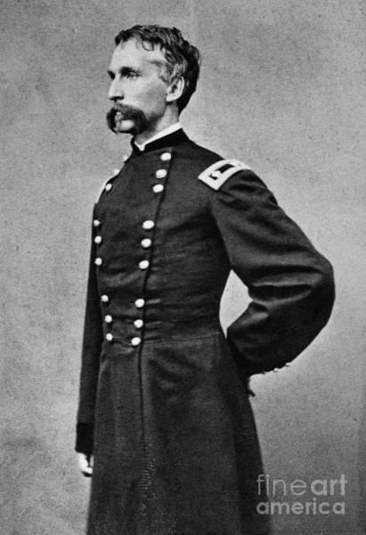 1863 Photograph - Joshua L. Chamberlain by Granger