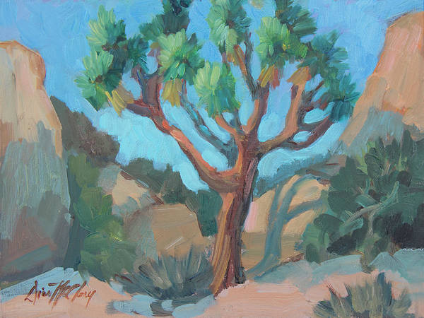 Wall Art - Painting - Joshua Tree Study by Diane McClary