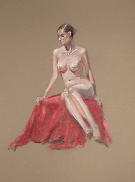 Painting - Josie by Christopher Reid