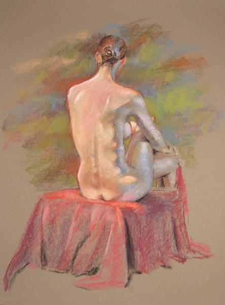 Painting - Josie's Back by Christopher Reid