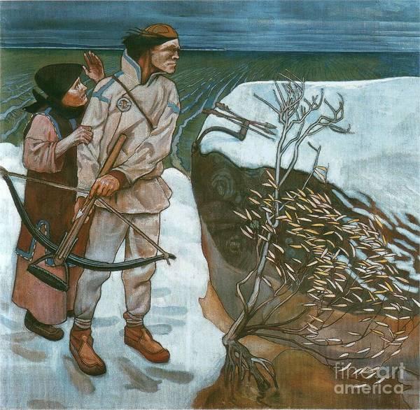 Painting - Joukahainen's Revenge by Celestial Images