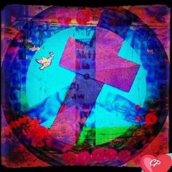 Mixed Media - Jour Du Souvenir by Christine Paris