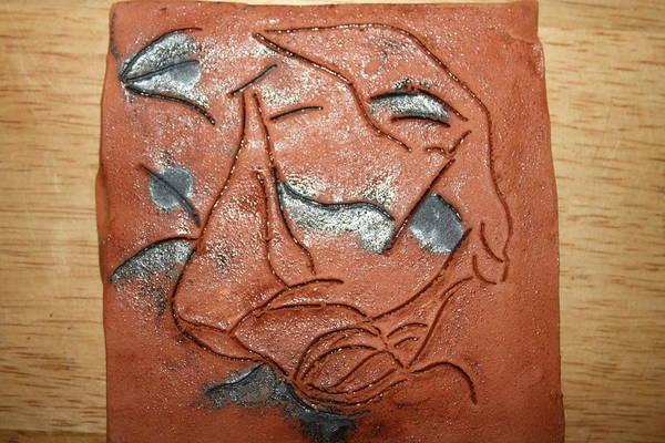 Ceramic Art - Journey 16 - Tile by Gloria Ssali