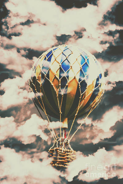Ballons Wall Art - Photograph - Journey Beyond by Jorgo Photography - Wall Art Gallery