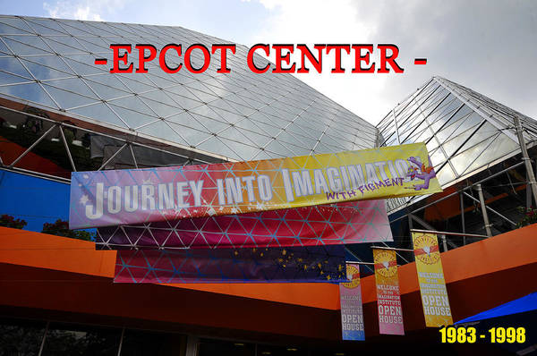 Epcot Center Wall Art - Photograph - Journey Into Imagination by David Lee Thompson