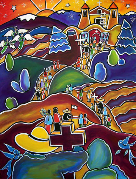 Painting - Journey Of Hope by Jan Oliver-Schultz
