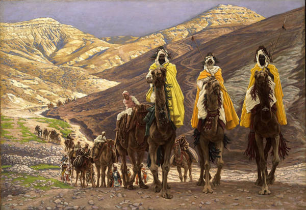 Wall Art - Painting - Journey Of The Magi by James Jacques Joseph Tissot