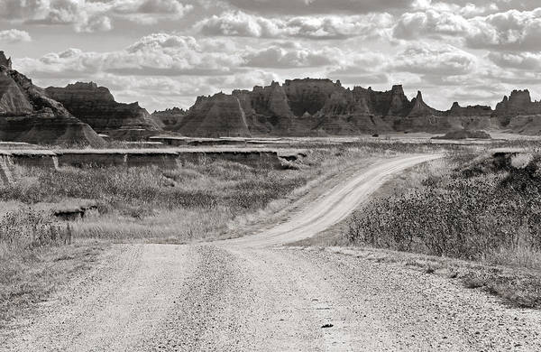 Photograph - Journey Through The Badlands by Nicholas Blackwell