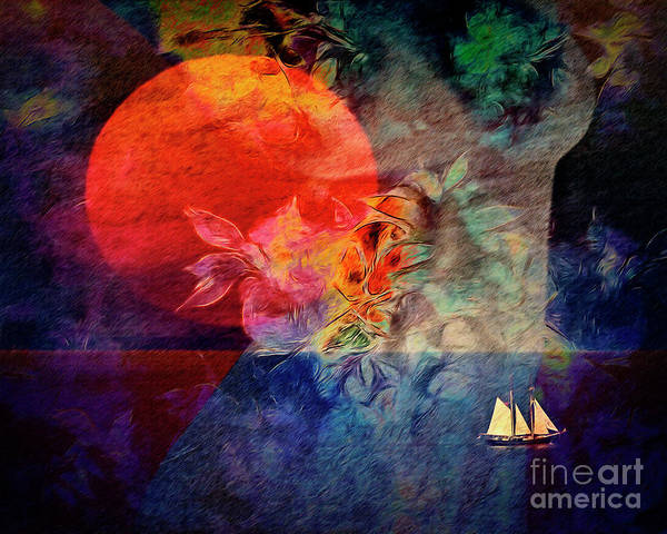 Digital Art - Journey To Mangalore by Edmund Nagele