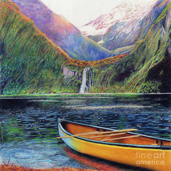 Painting - Journey To Shangri-la by Rhonda Dicksion