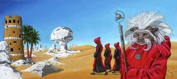Painting - Journey To The White Desert by Paxton Mobley
