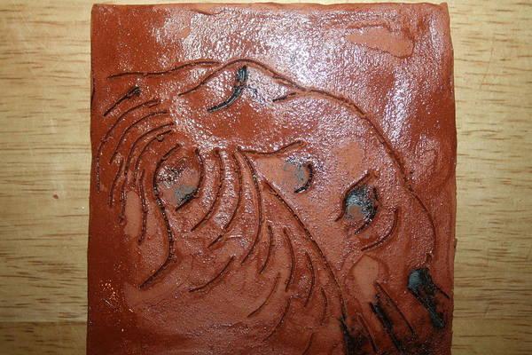 Ceramic Art - Journeys 19 - Tile by Gloria Ssali