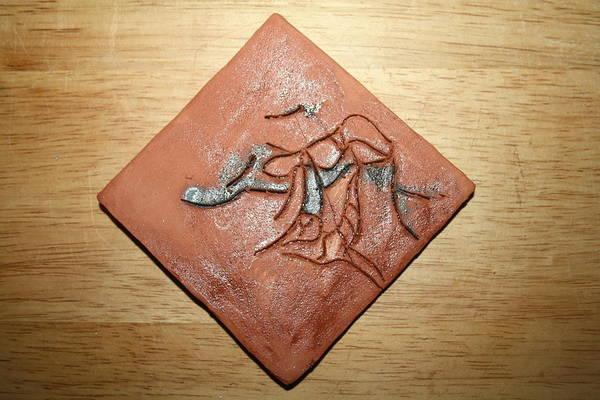 Ceramic Art - Journeys 8 - Tile by Gloria Ssali