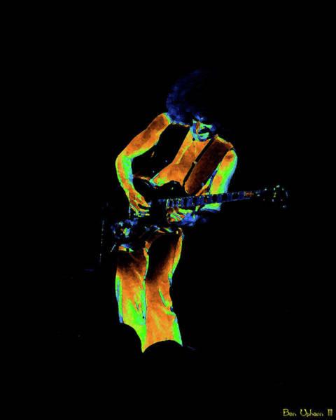 Mixed Media - Jourspo #11 Enhanced In Cosmicolors by Ben Upham