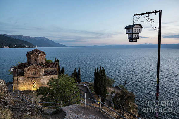 Photograph - Jovan Kaneo Church In Ohrid, Macedonia by Didier Marti