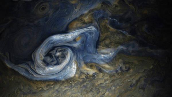 Photograph - Jovian Tempest by Nasa