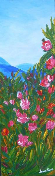 Okanagan Valley Painting - Joy In The Valley by Susan Harris