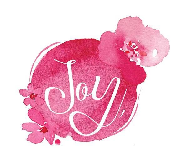 Mixed Media - Joy by Nancy Ingersoll