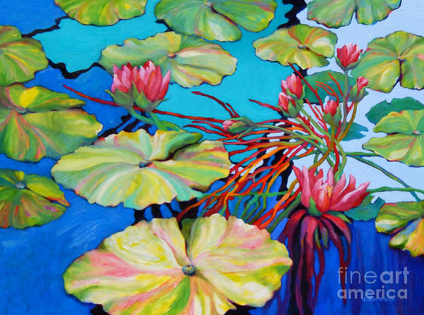 Wall Art - Painting - Joy Pond by Sharon Nelson-Bianco