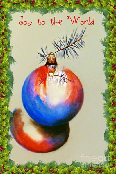 Drawing - Joy To The World by David Neace