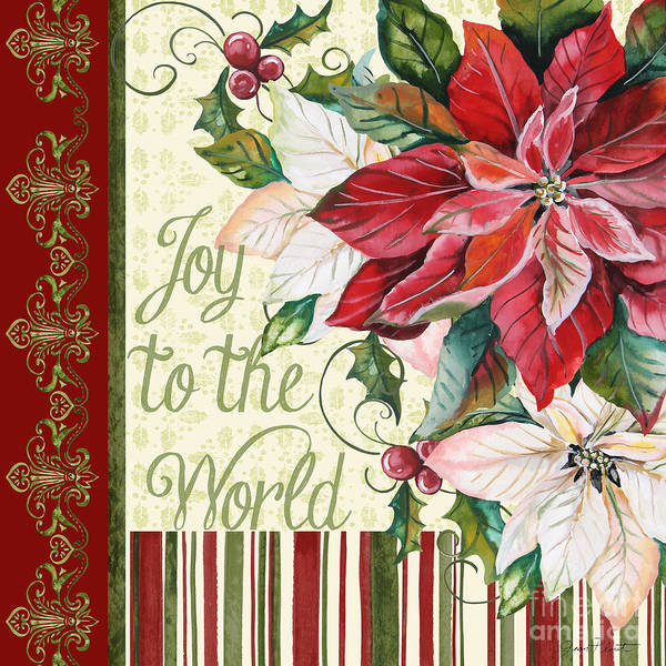 Wall Art - Painting - Joy To The World-jp3290 by Jean Plout