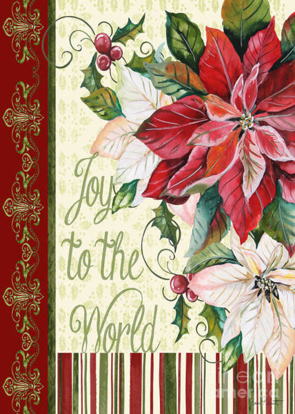 Wall Art - Painting - Joy To The World-jp3294 by Jean Plout