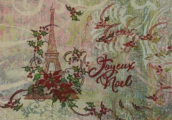 Painting - Joyeux Noel by Gail Kent