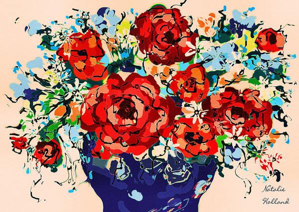 New Leaf Mixed Media - Joyful Delight by Natalie Holland