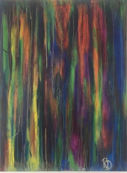 Painting - Joyful Forest by Rebecca Davidson