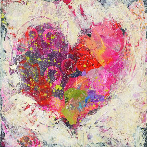 Painting - Joyful Heart 3 by Shelli Walters