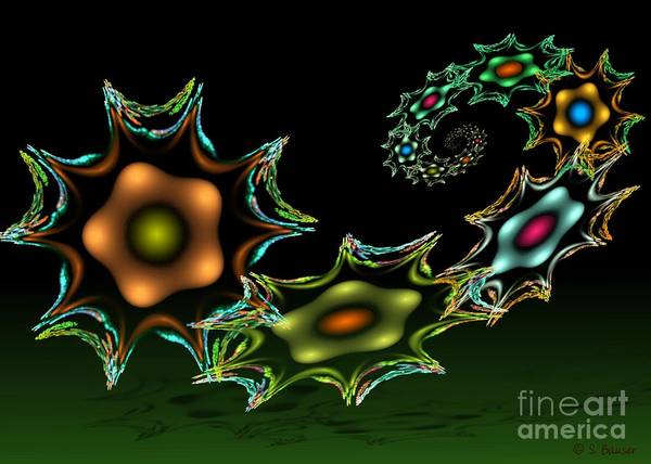 Digital Art - Joyful Odyssey by Sandra Bauser Digital Art