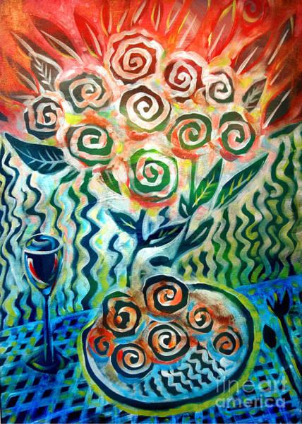 Joyful Wine Art Print