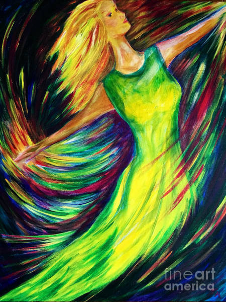 Painting - Joy's Dance by Pam Herrick