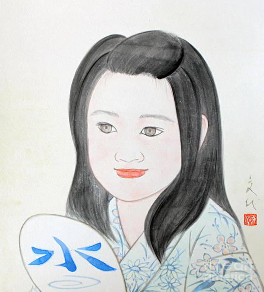 Painting - Jozen Mizu No Gotoshi by Fumiyo Yoshikawa