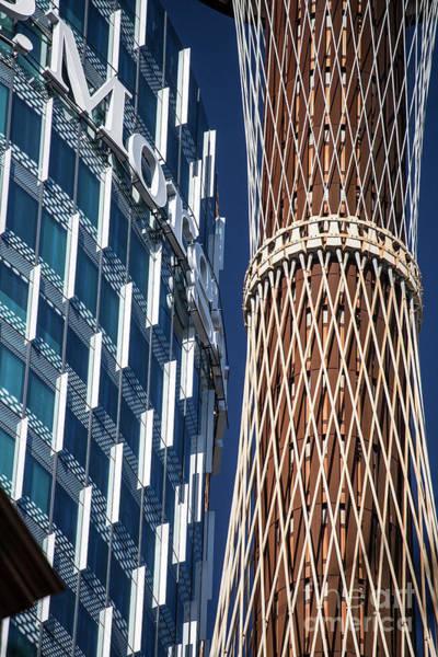 Wall Art - Photograph - Jp Morgan And Sydney Tower by Sheila Smart Fine Art Photography