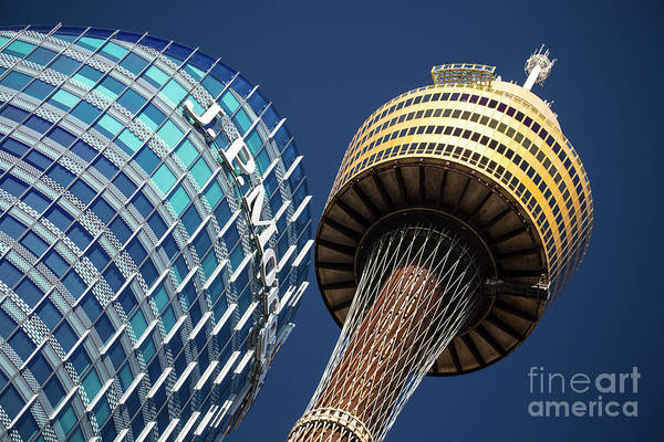 Wall Art - Photograph - Jp Morgan Building And Sydney Tower by Sheila Smart Fine Art Photography