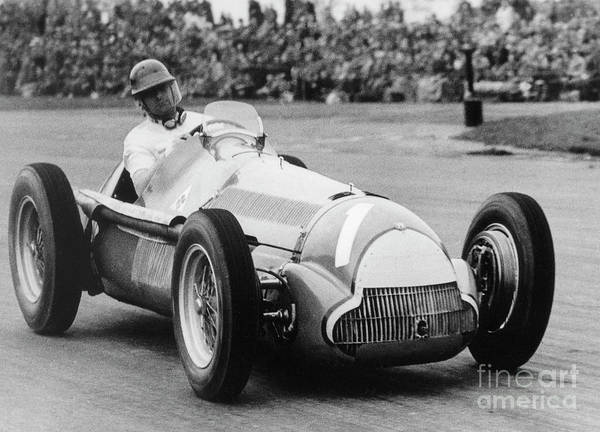 Wall Art - Photograph - Juan Manuel Fangio  by French School