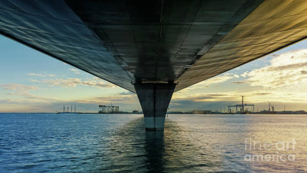 Photograph - Juan Sebastian Elcano Under 1812 Constitution Bridge Cadiz Spain by Pablo Avanzini