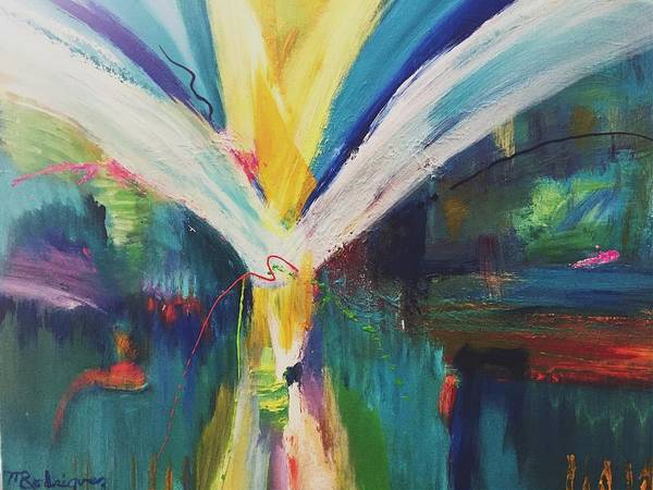 Painting - Jubilant by Marilyn Rodriguez