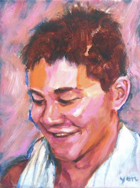 Painting - Jubilation - Joseph Isaac Schooling by Yen