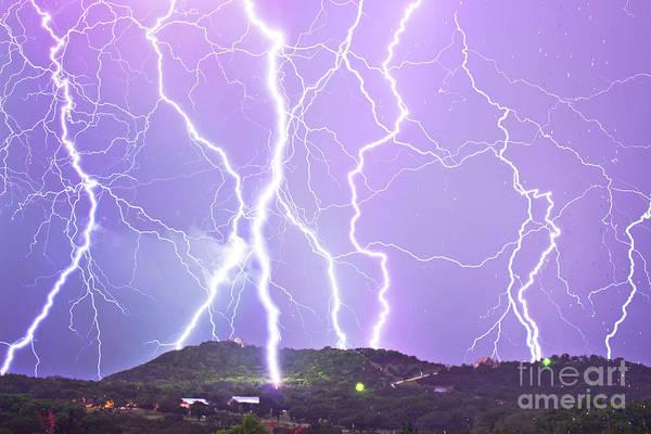 Wall Art - Photograph - Judgement Day Lightning by Michael Tidwell