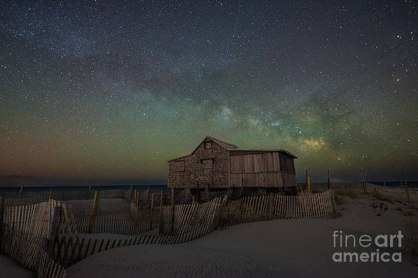 Wall Art - Photograph - Judge's Shack Milky Way by Michael Ver Sprill