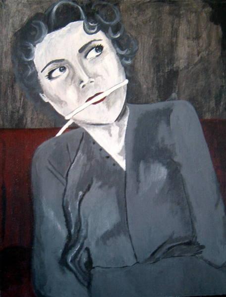 Serial Killer Painting - Judy Dull - Harvey Glatman Victim by Crystal Dearth-Lorton