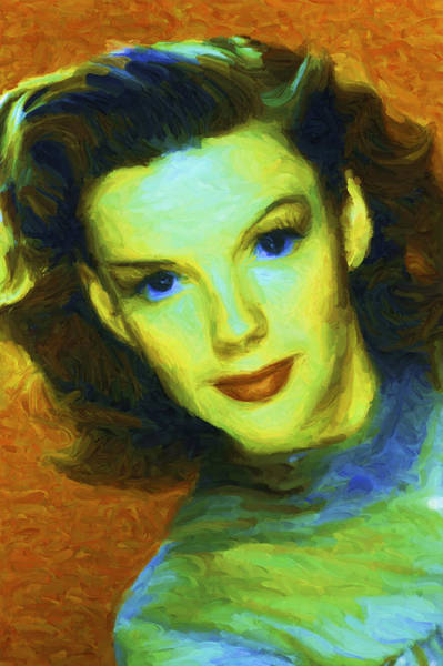 Digital Art - Judy Garland by Caito Junqueira