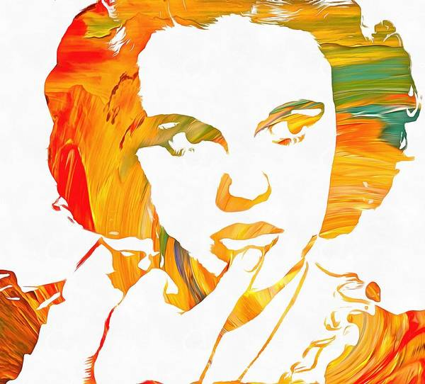 Wall Art - Painting - Judy Garland by Dan Sproul