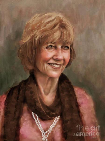 Digital Art - Mrs. Weaver by Dwayne Glapion