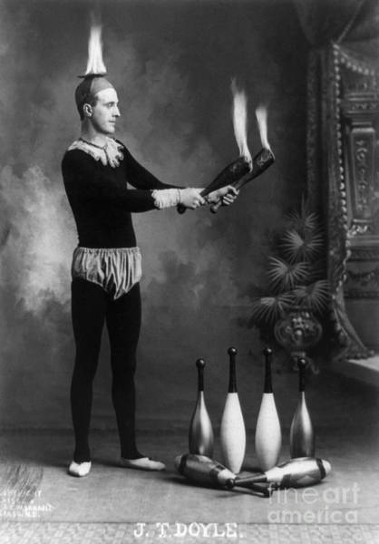 Photograph - Juggler, C1902.  by Granger