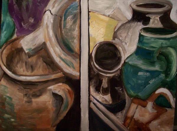 Wall Art - Painting - Jugs by Mikayla Ziegler